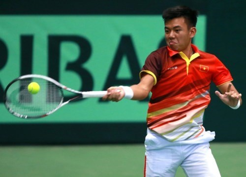 Vietnam secure second win at Davis Cup hinh anh 1