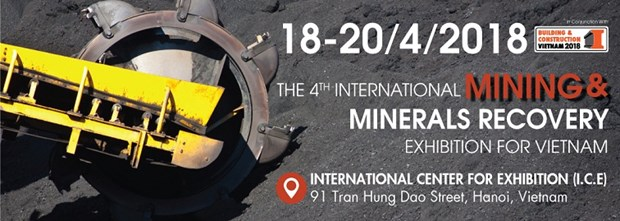 Mining Vietnam 2018 exhibition to be held in Hanoi hinh anh 1