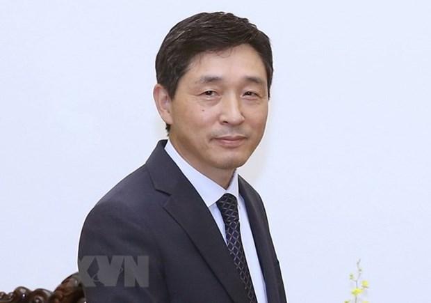 RoK ambassador awarded Vietnam's friendship medal hinh anh 1