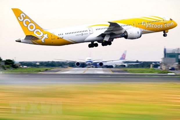 Flight returns to Singapore due to bomb threat hinh anh 1