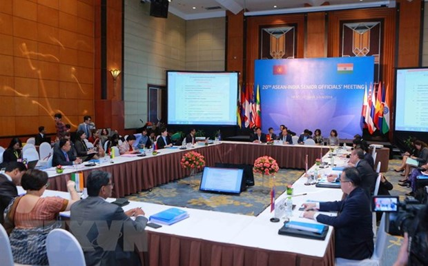 ASEAN-India Senior Officials' Meeting held in Hanoi hinh anh 1