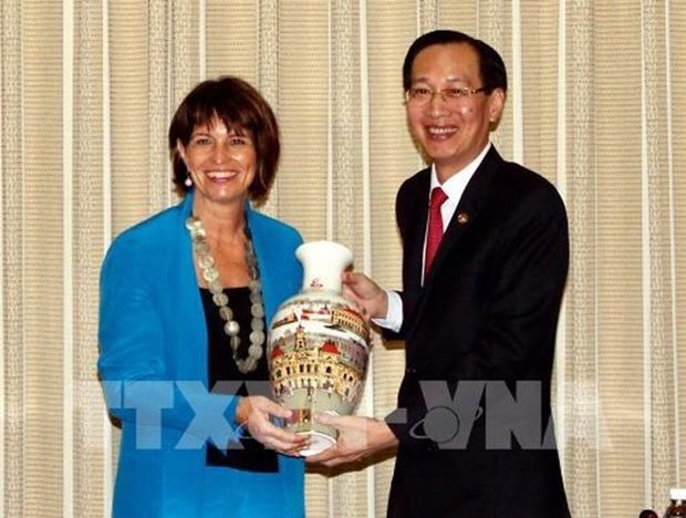 Ho Chi Minh City, Switzerland discuss joint work hinh anh 1