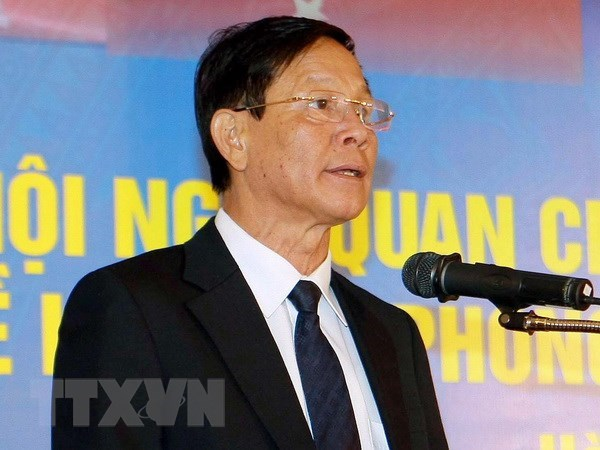 Ex-chief of Police General Department Phan Van Vinh arrested hinh anh 1