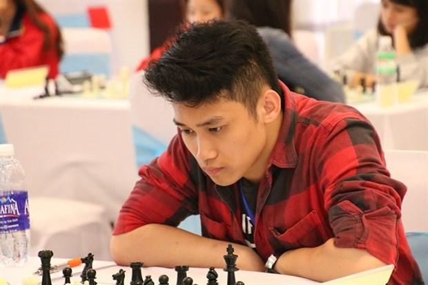 Tran Minh Thang wins gold medal at Asian youth chess champs hinh anh 1