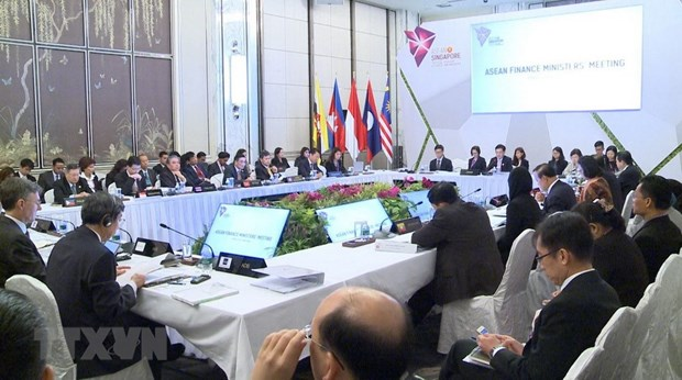 ASEAN Finance Ministers' Meeting opens in Singapore hinh anh 1