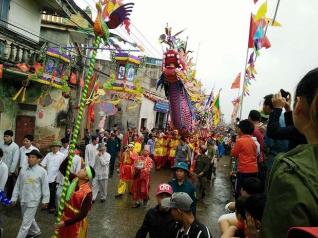 Thanh Hoa's festival recognised national intangible cultural heritage hinh anh 1