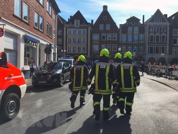 No Vietnamese victim reported in car crash in Germany hinh anh 1