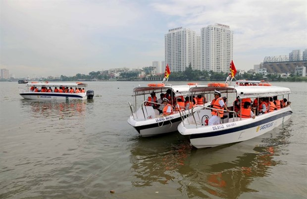 HCM City to improve waterway transit management hinh anh 1