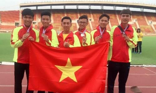 Vietnam ranks 2nd at regional junior athletics tournament hinh anh 1