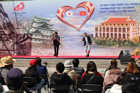 Vietnam festival attractive to visitors in Japanese prefecture hinh anh 1