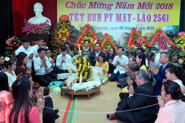 Friendship gathering celebrates Lao traditional festival hinh anh 1
