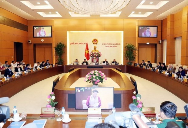 NA Standing Committee convenes 23rd session in Hanoi hinh anh 1