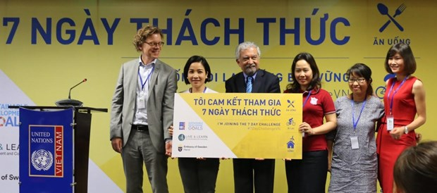 Seven-day challenge encourages sustainable lifestyle hinh anh 1