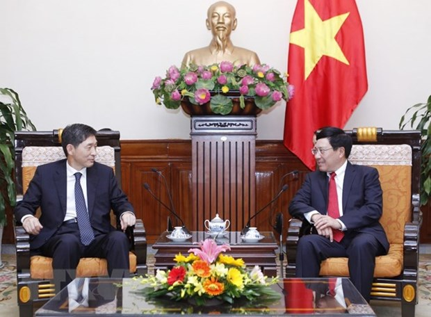 Vietnam values strategic cooperative partnership with RoK hinh anh 1