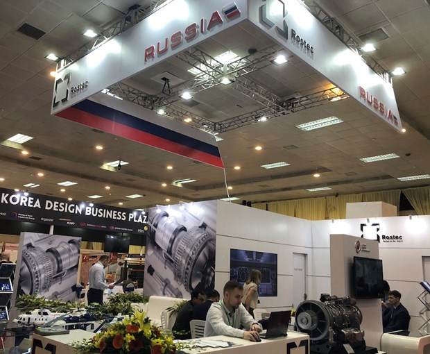 Russia's key products displayed at Vietnam Expo 2018 hinh anh 1