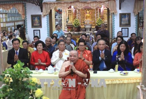 HCM City marks traditional New Year festival of neighbouring countries hinh anh 1