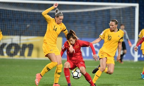 AFC Women's Asian Cup: Vietnam suffers 0-8 defeat to Australia hinh anh 1