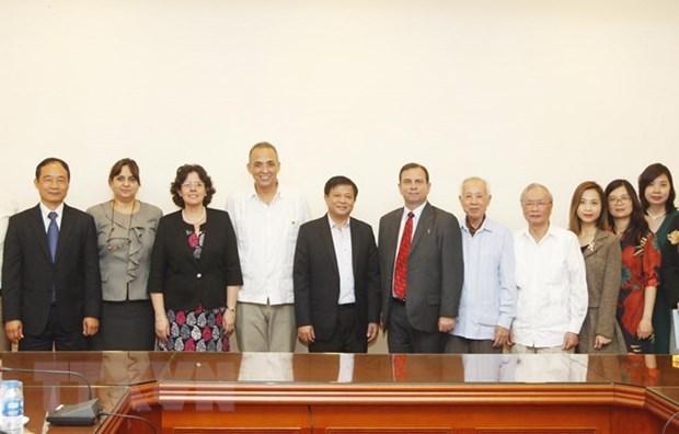 VNA Deputy General Director receives ICAP leader hinh anh 1