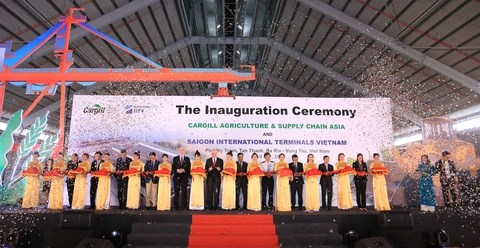Cargill opens grain warehouse in southern province hinh anh 1