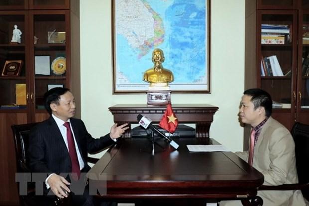 Ambassador: high political trust drives Vietnam-Russia ties forward hinh anh 1