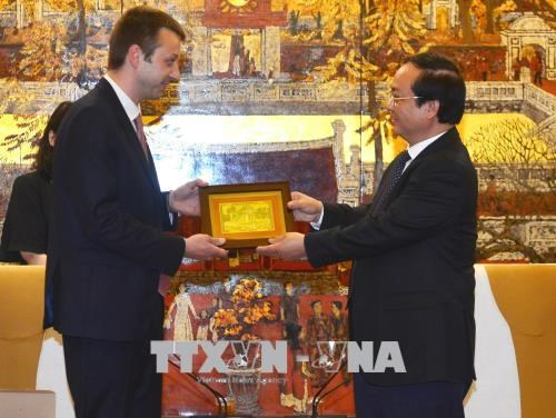 Hanoi, Greek city discuss ways to boost bilateral cooperation hinh anh 1
