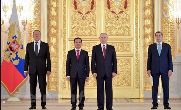 President Putin stresses thriving Vietnam-Russia relations hinh anh 1