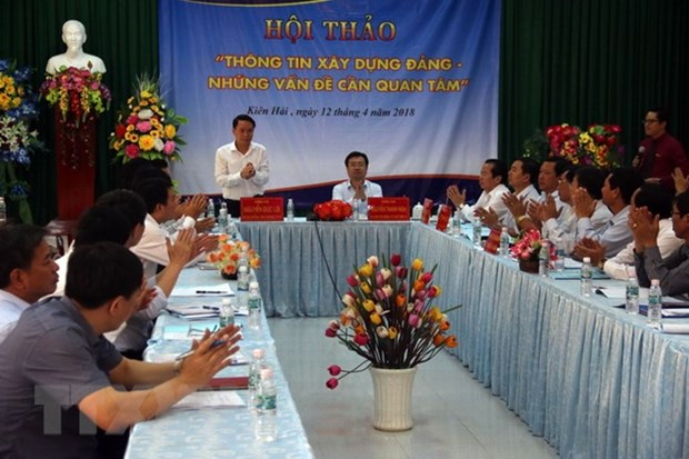 VNA seeks ways to improve coverage of Party building work hinh anh 1