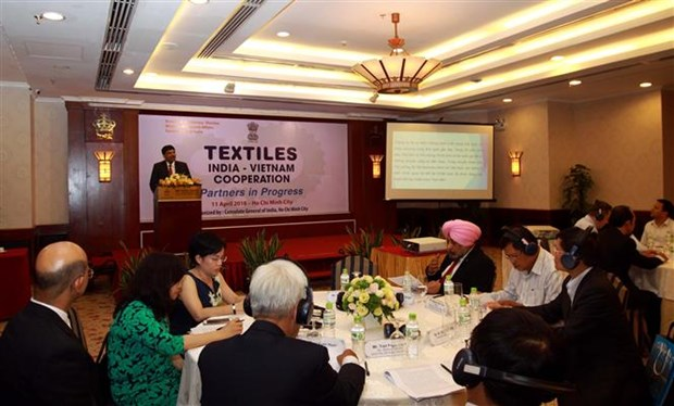 HCM City: Conference spotlights India-Vietnam textile cooperation hinh anh 1
