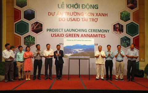 Thua Thien-Hue launches USAID-funded forest protection project hinh anh 1