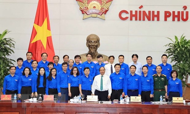 PM requests support for youths to promote start-up hinh anh 1