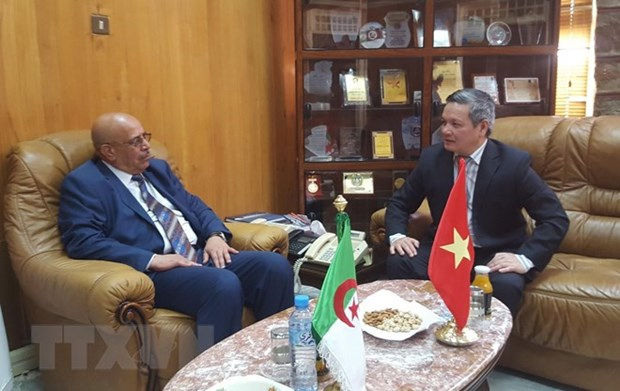 Vietnamese ambassador works to enhance ties with Algerian locality hinh anh 1
