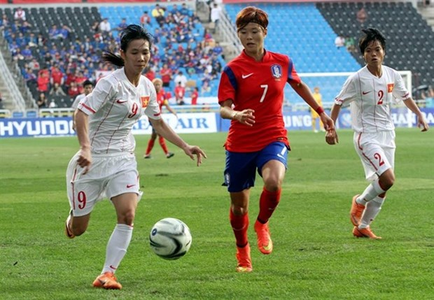 Vietnam ends AFC Women's Cup after three losses hinh anh 1