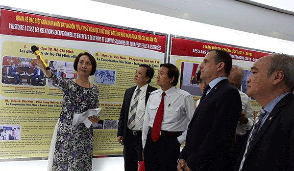 Various activities during Vietnam-France week in HCM City hinh anh 1