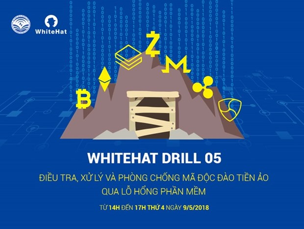 Government to hold drill for tackling coin-miner virus hinh anh 1