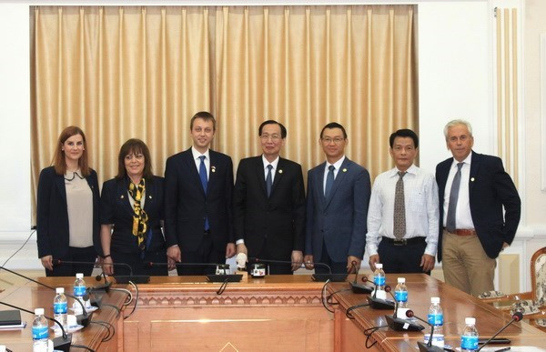 HCM City, Greece's Edessa city seek stronger cooperation hinh anh 1