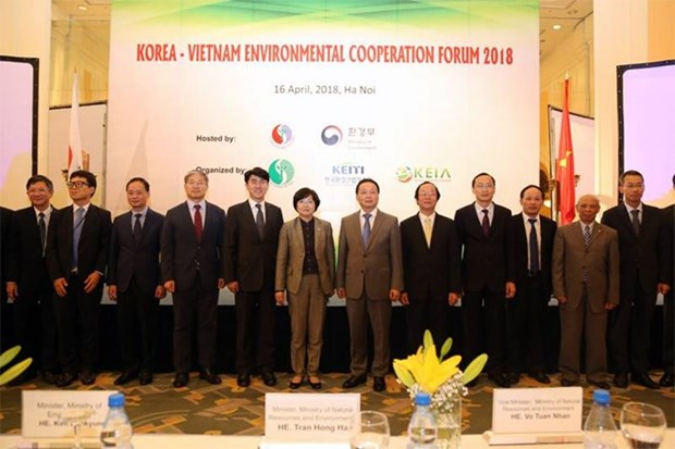 Vietnam, RoK intensify environmental cooperation hinh anh 1