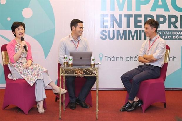 HCM City summit talks social enterprises hinh anh 1