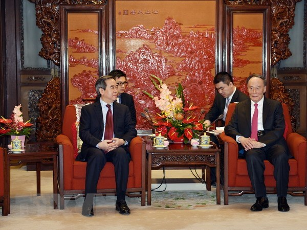 Communist Party of Vietnam official pays working visit to China hinh anh 1