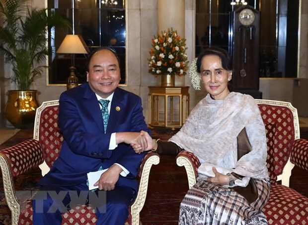 Myanmar State Counsellor's Vietnam visit to tighten bilateral ties hinh anh 1