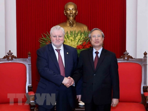 Vietnamese, Russian parties forge ties hinh anh 1