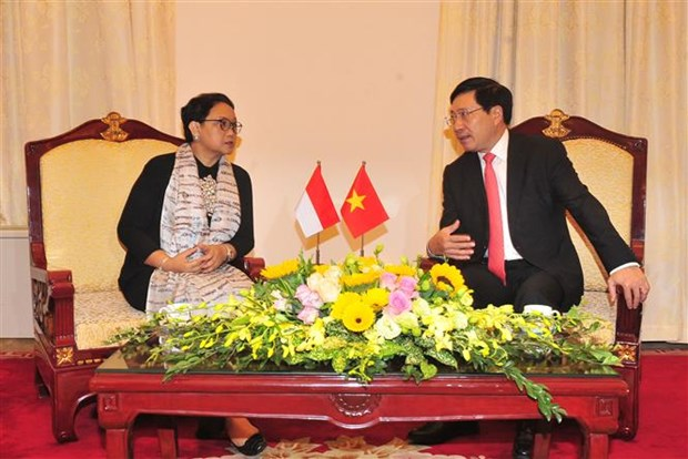 Vietnam-Indonesia Cooperation Committee convenes third meeting hinh anh 1