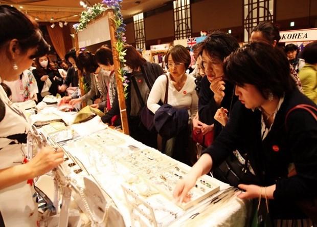 Vietnam attends ALFS charity bazaar in Tokyo hinh anh 1