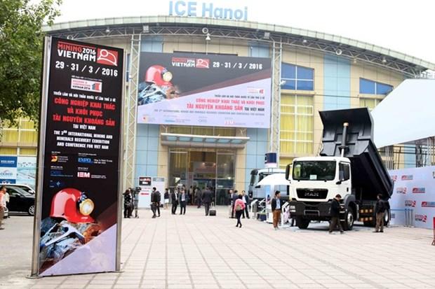 Mining Vietnam 2018 kicks off in Hanoi hinh anh 1
