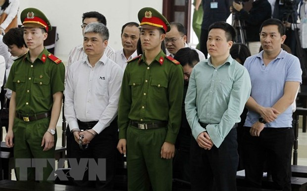 Appeal trial began for former OceanBank executives hinh anh 1