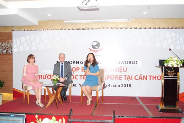 Singapore's KinderWorld opens int'l school in Can Tho hinh anh 1
