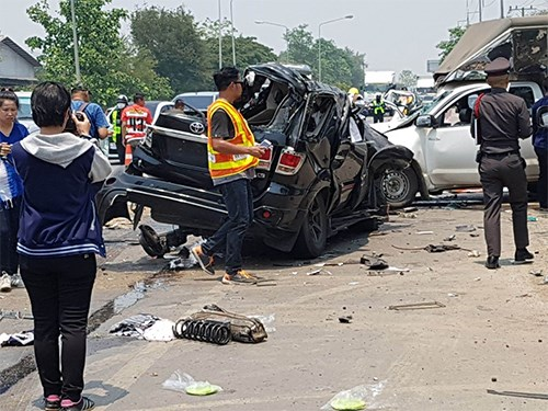Thailand: Drink driving blamed for road accidents in Songkran hinh anh 1
