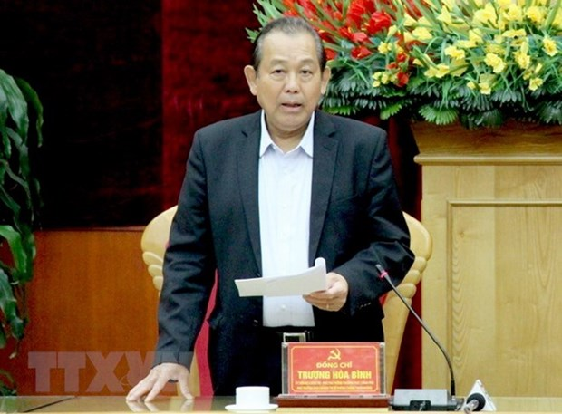 Anti-corruption work at MONRE, MOIT reviewed hinh anh 1