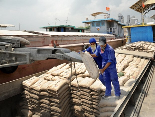 Cement exports surge as China's production drops hinh anh 1