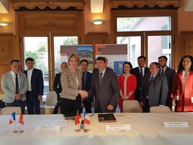 Vietnam, France set link-up to develop global geoparks hinh anh 1