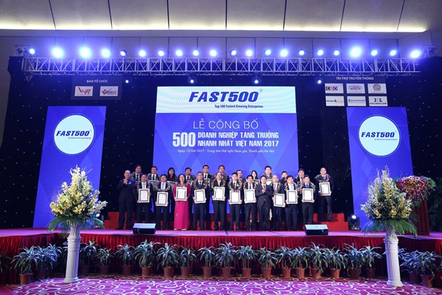 Vietnam's top 500 best growing, prosperous firms publicised hinh anh 1